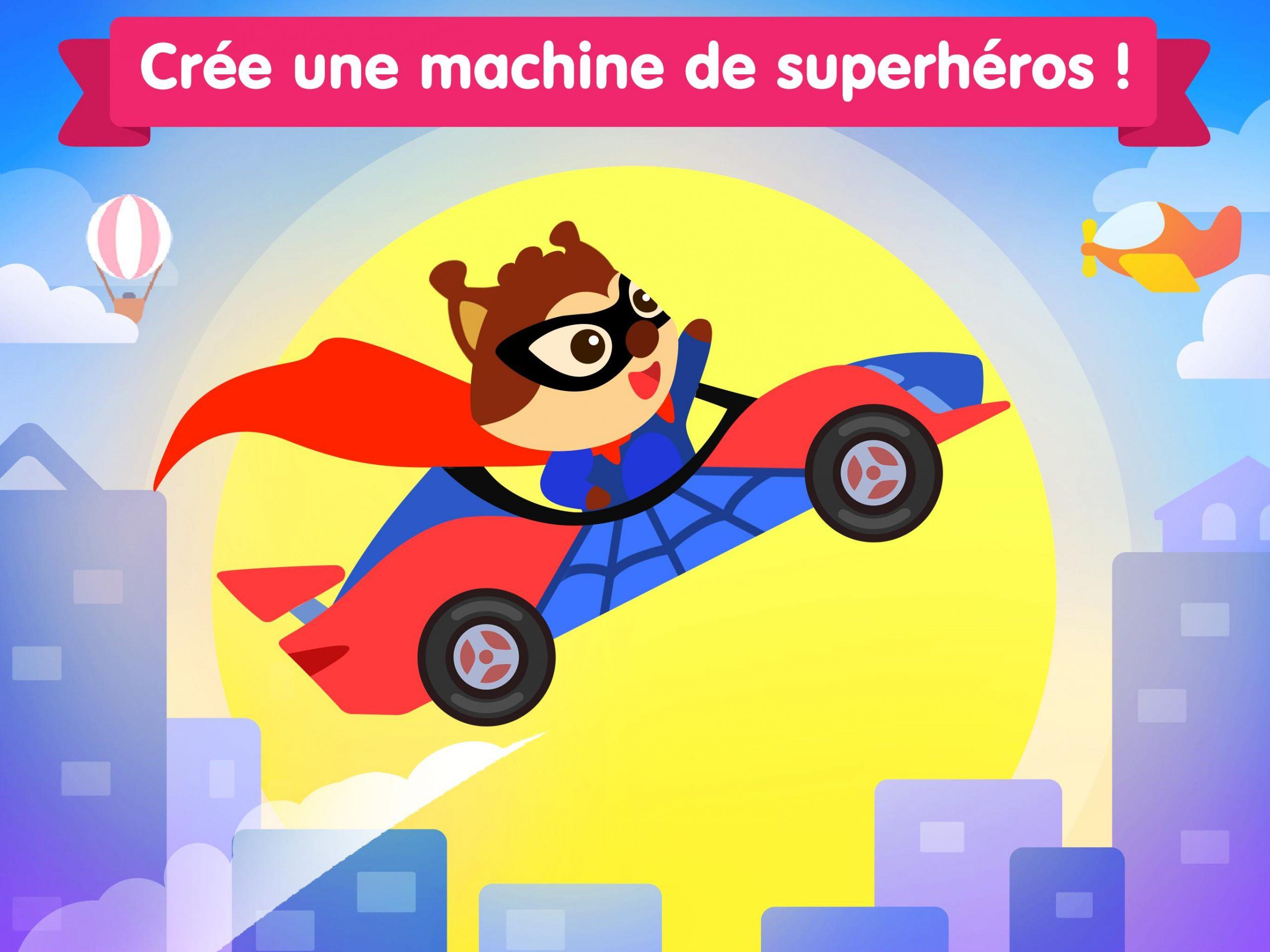 Jeux De Voiture Pour Les Bébés Et Enfants 4 Ans Pour Android serapportantà Jeux De Voiture Pour Bébé