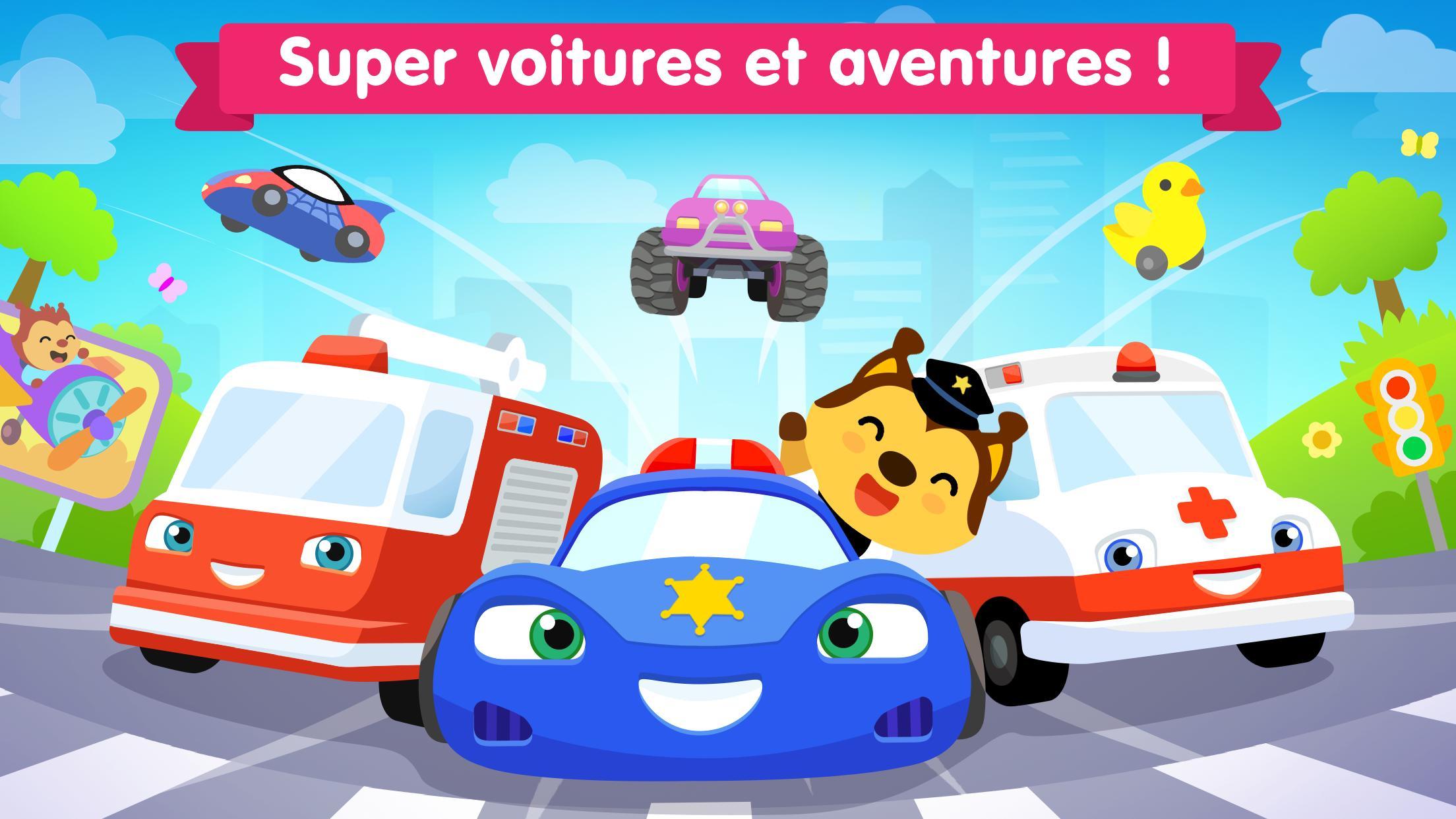 Jeux De Voiture Pour Les Bébés Et Enfants 4 Ans Pour Android serapportantà Jeux Pour Voiture Bébé