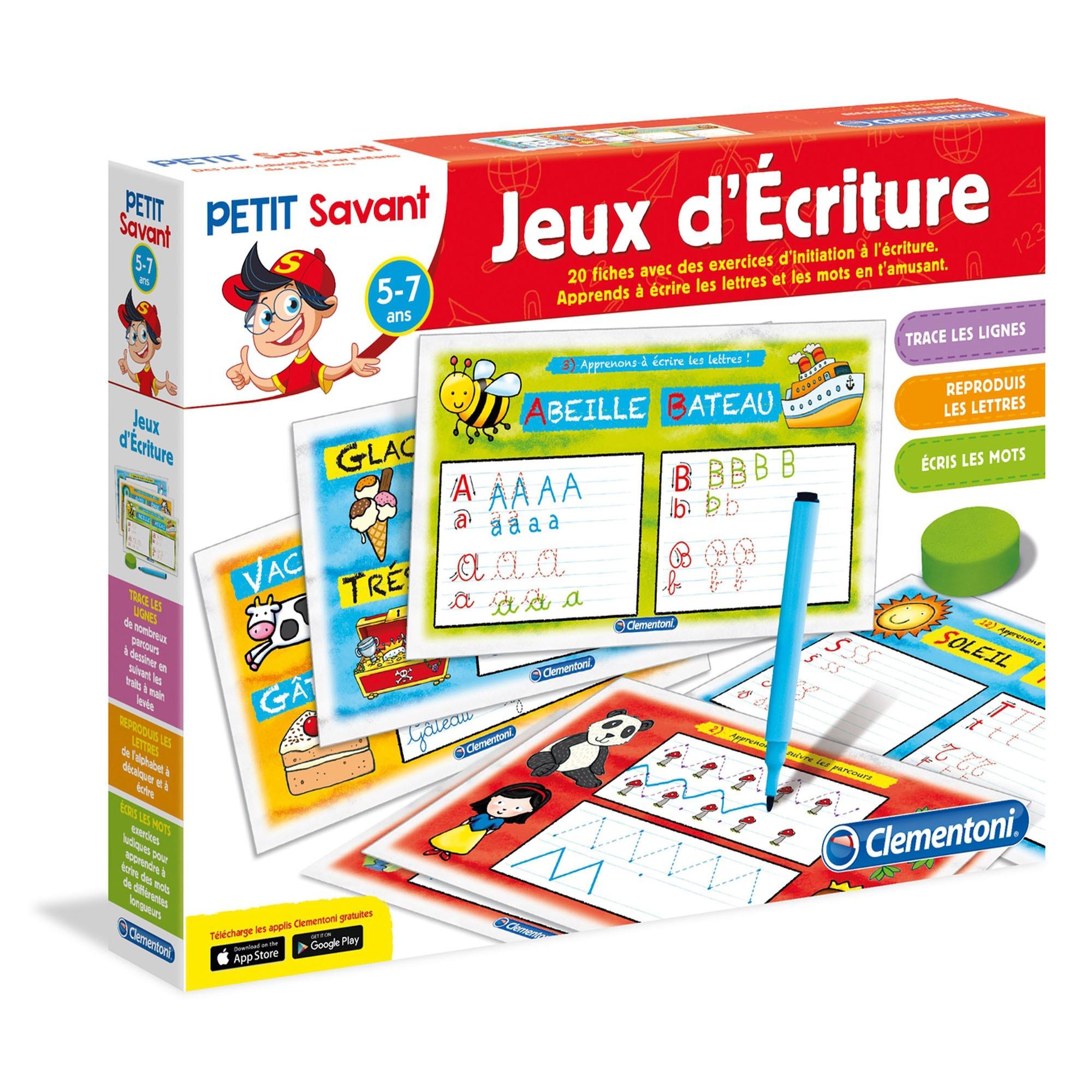Jeux D'écriture - Clementoni encequiconcerne Jeux Pour Apprendre À Écrire