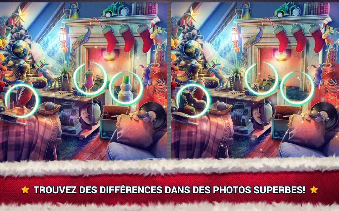 Jeux Des Différences Noël - Jeux Des Erreurs - Jeux Midva pour Jeux Gratuits De Différences