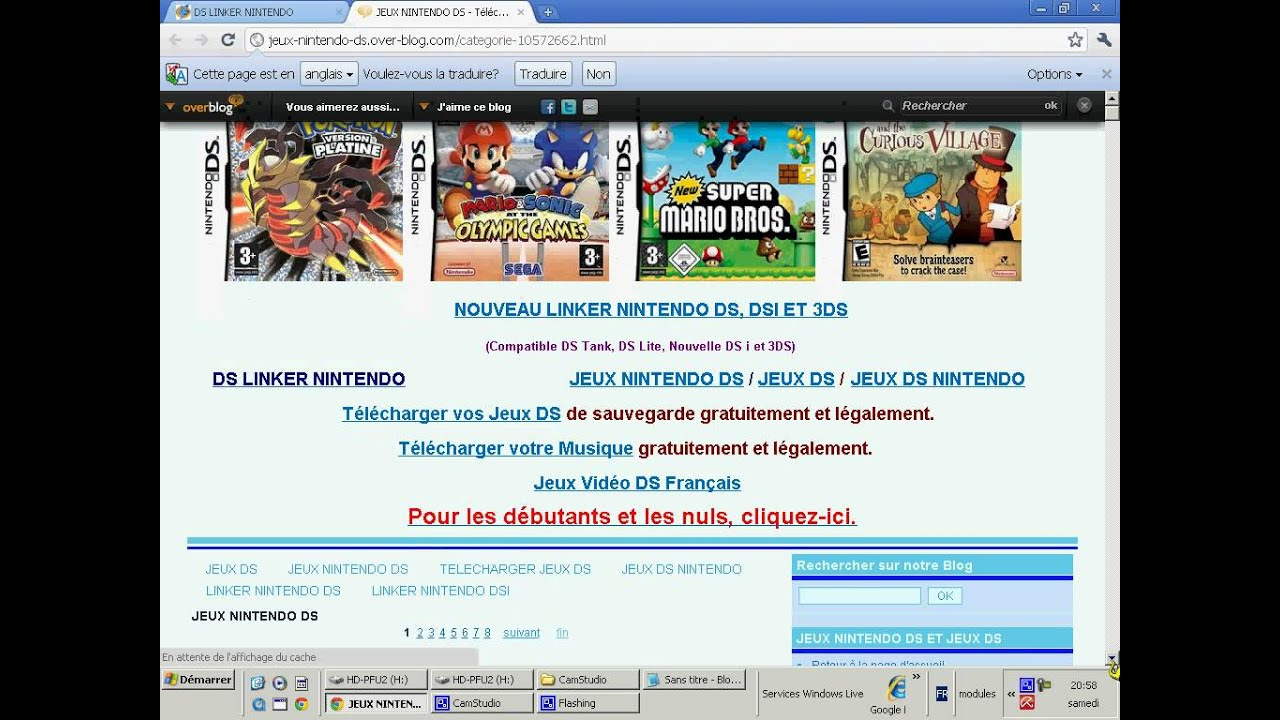 Jeux Ds Xl Telecharger Gratuit 20 Sites Pour Télécharger Des serapportantà Site De Telechargement De Jeux Gratuit