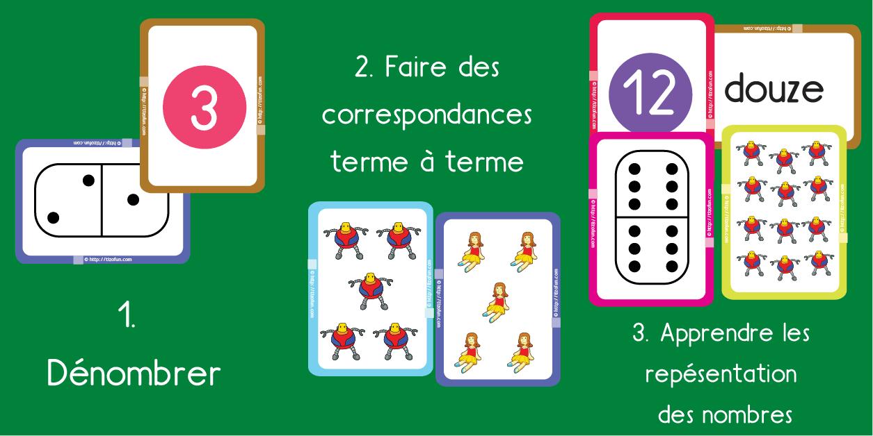 Jeux & Exercices Pour Apprendre Les Nombres Pdf À Imprimer avec Jeux Pour Apprendre Les Chiffres En Francais