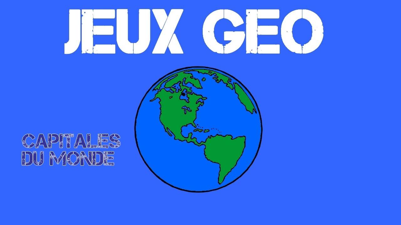 Jeux-Géo #02 Capitales Du Monde - destiné Jeu Des Capitales