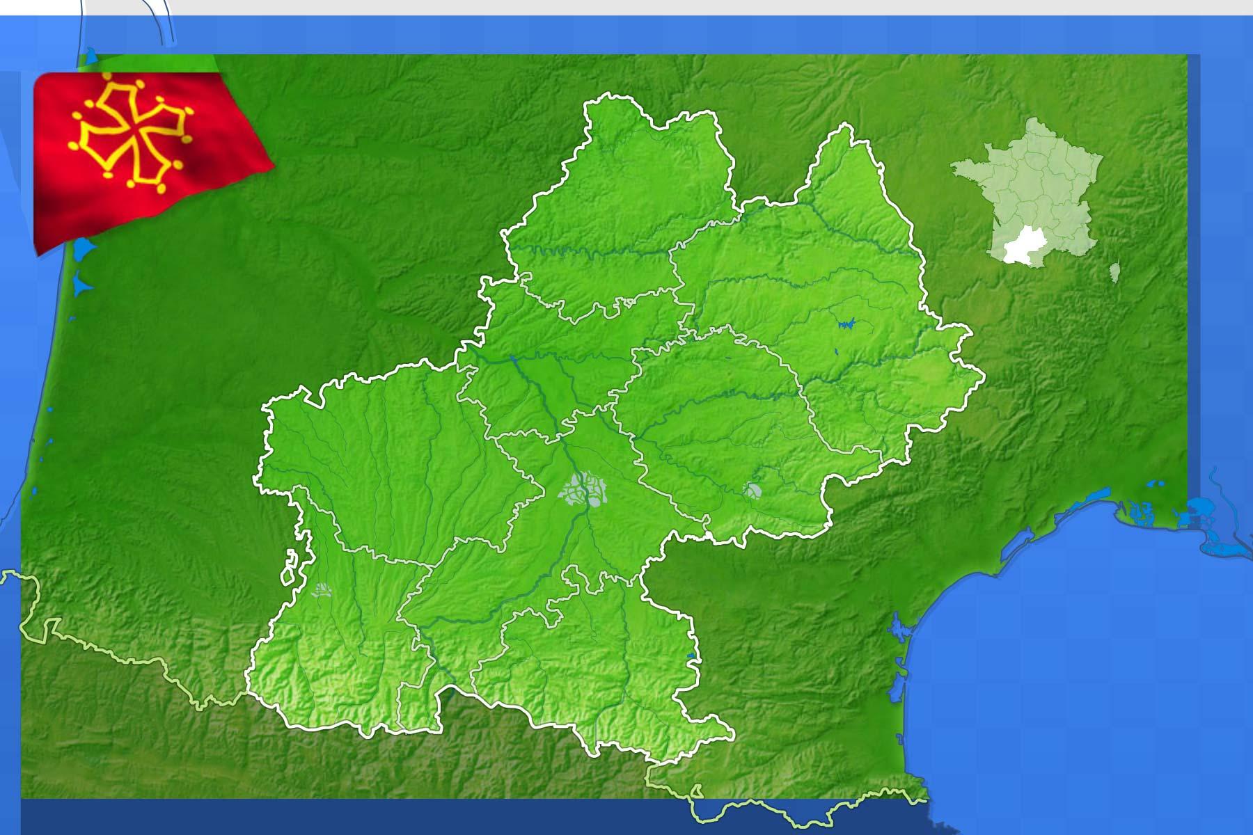 Jeux-Geographiques Jeux Gratuits Villes De Midi Pyrenees destiné Jeu Villes France