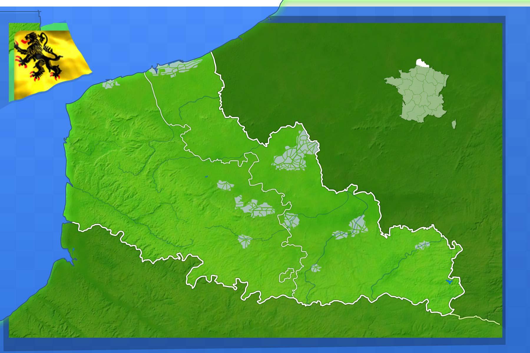 Jeux-Geographiques Jeux Gratuits Villes Du Nord Pas De serapportantà Jeu Geographie France