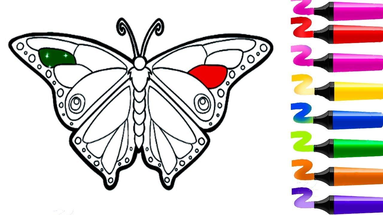 Jeux Gratuit! Coloriage À Imprimer! Dessin Papillon! Jeux pour Jeux De Peinture Pour Fille