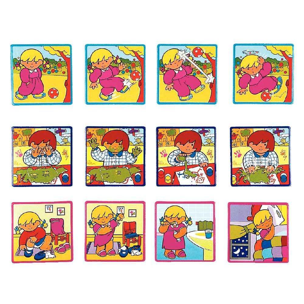 Jeux Histoires Séquentielles Niveau 2 - Interdidak | Jeux D destiné Images Séquentielles À Imprimer