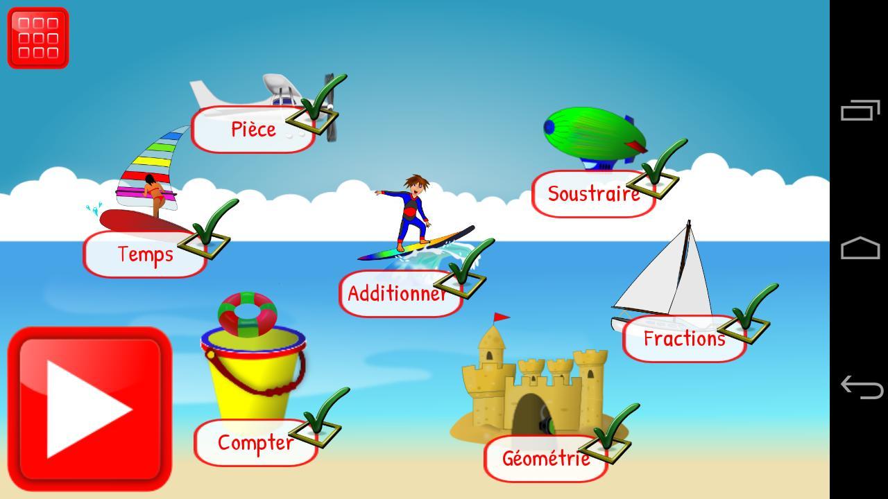 Jeux Mathématiques Ce1 Ce2 Pour Android - Téléchargez L'apk encequiconcerne Jeux De Éducatif Ce2