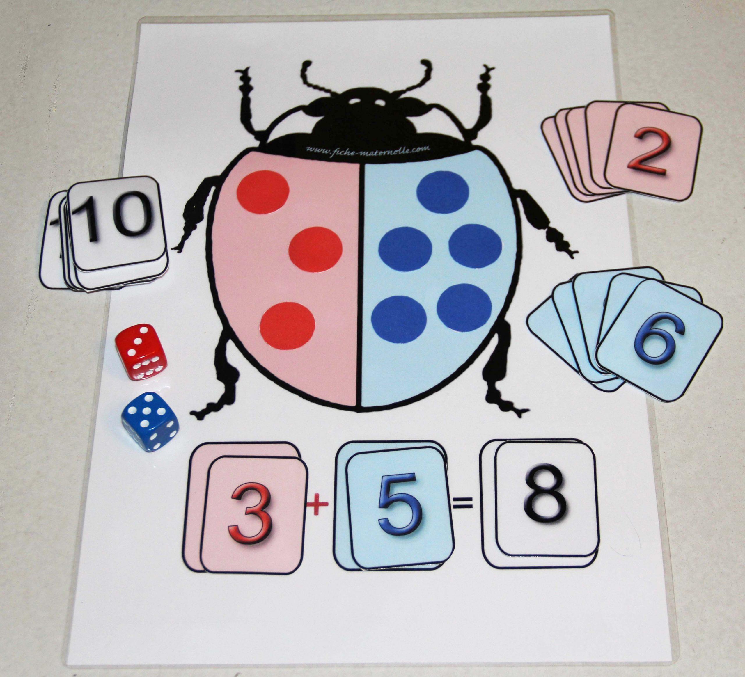 Jeux Mathématiques Pour Introduire L'addition pour Addition Maternelle