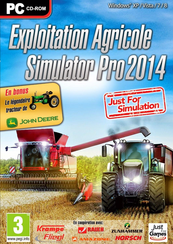 Jeux Pc: Exploitation Agricole Simulator Pro 2014 Cracked à Jeux Pour Telecharger Sur Pc