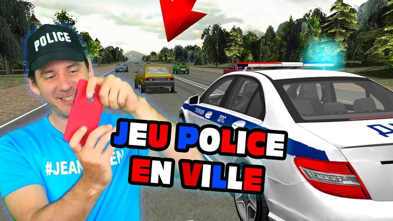 Jeux Police En Ville Traffic Cop Simulator 3D Android serapportantà Jeux De Voiture Avec La Police