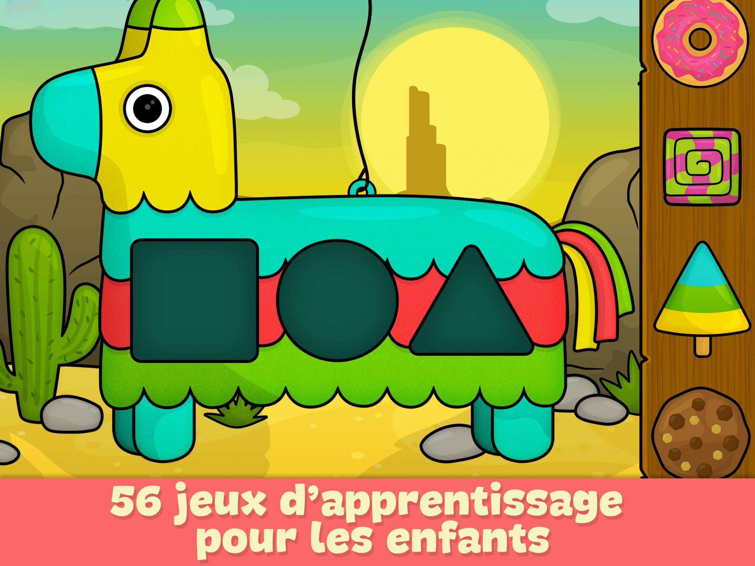 Jeux Pour Enfants 2 - 5 Ans Pour Android - Téléchargez L'apk encequiconcerne Jeux Instructif Gratuit 5 Ans