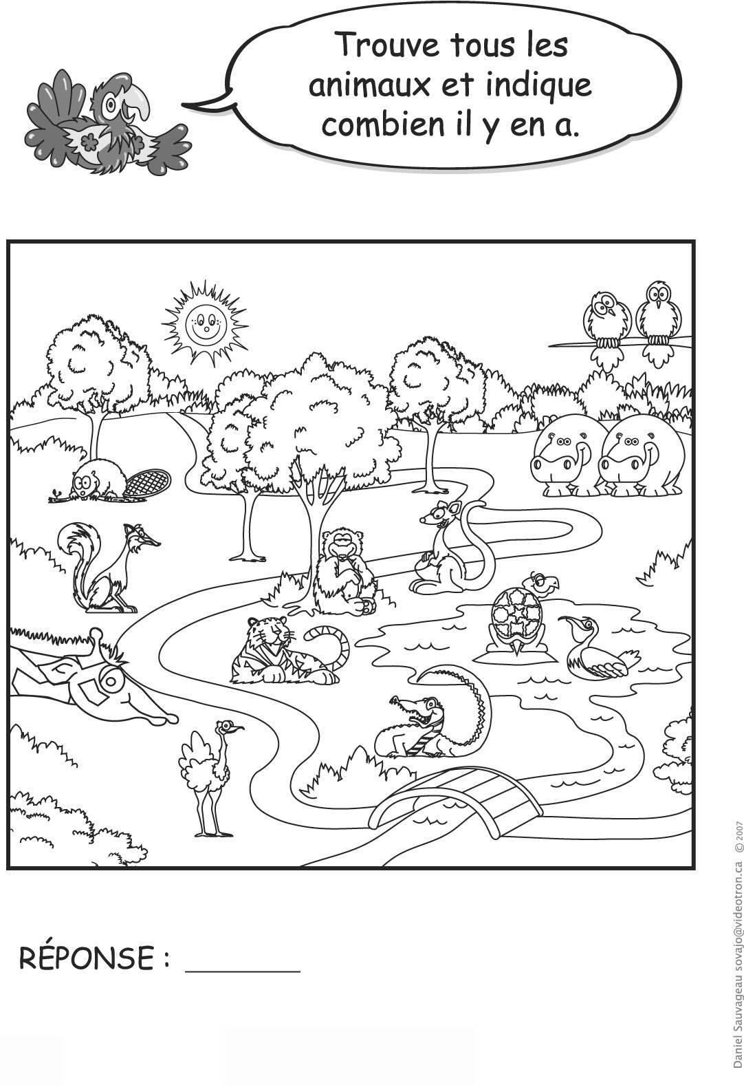 Jeux Pour Enfants No 1 intérieur Jeux Animaux Enfant