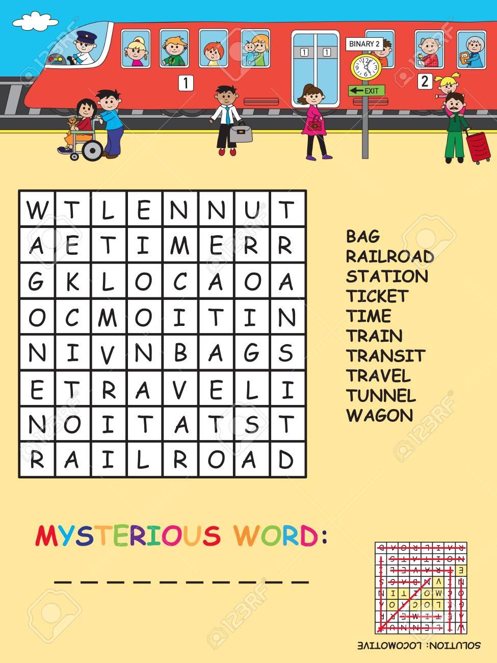Jeux Pour Les Enfants: Mots Croisés Facile Avec Mot Mystérieux serapportantà Jeux Mots Croisés Facile