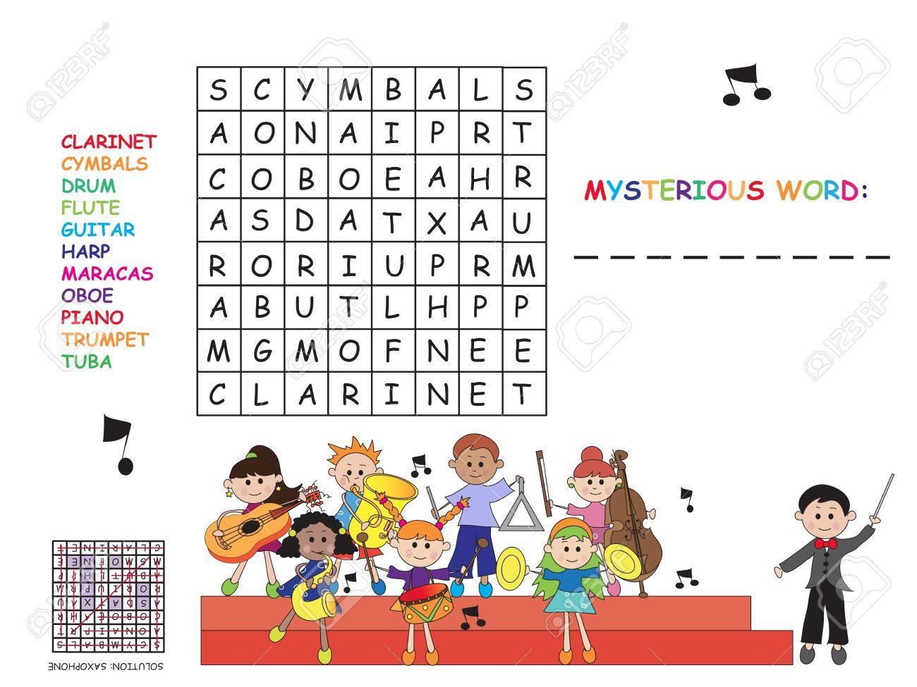 Jeux Pour Les Enfants: Mots Croisés Facile encequiconcerne Jeux Mots Croisés Facile
