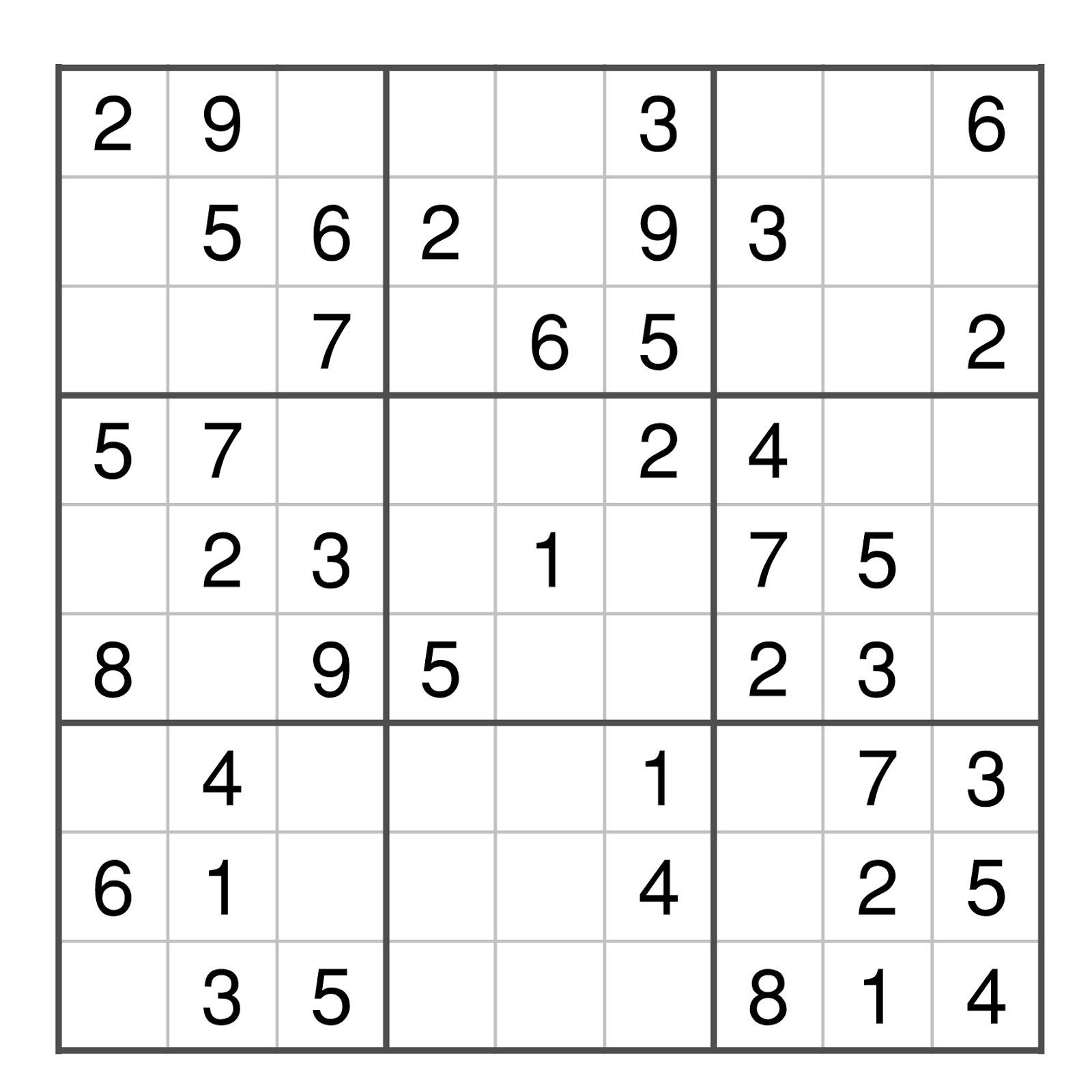 Jeux Sudoku serapportantà Grille Sudoku Gratuite À Imprimer