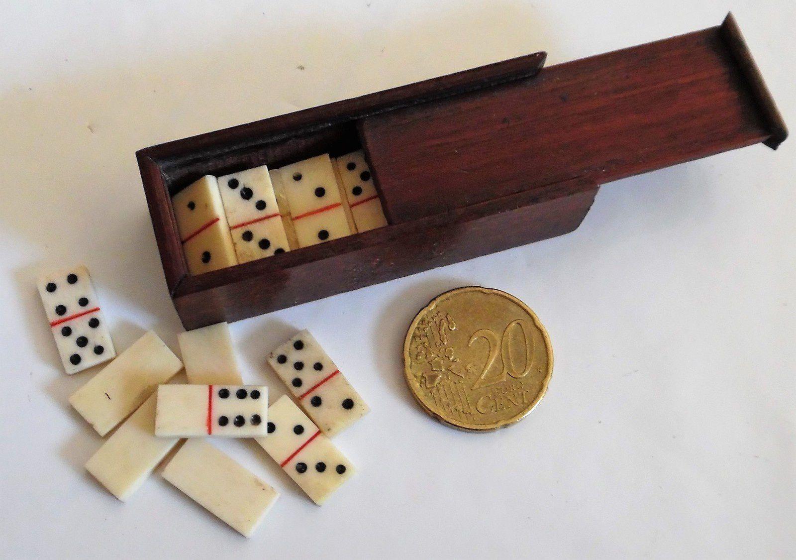 Jeux Traditionnels Jeu De Domino En Coffret Bois Jeux Jeux à Jeu Du Domino