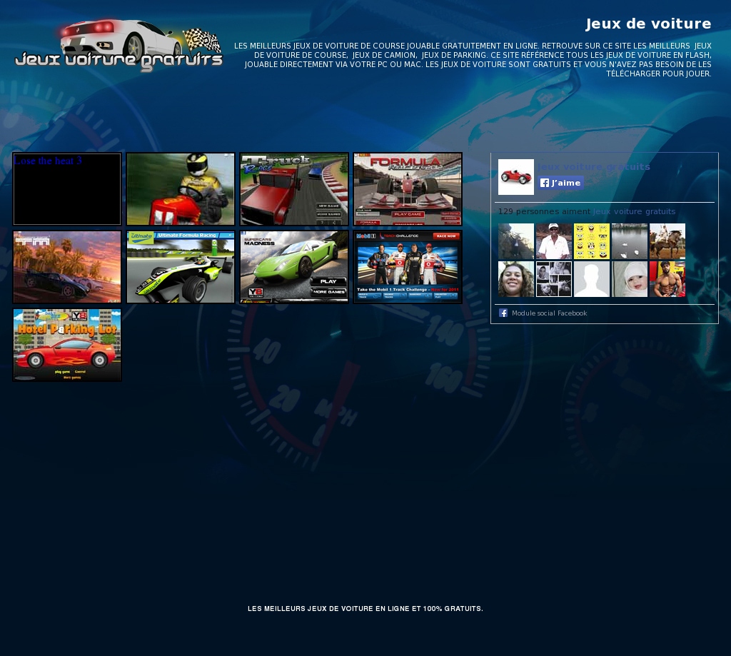 Jeux Voiture Gratuits Competitors, Revenue And Employees encequiconcerne Jeux De Course Online