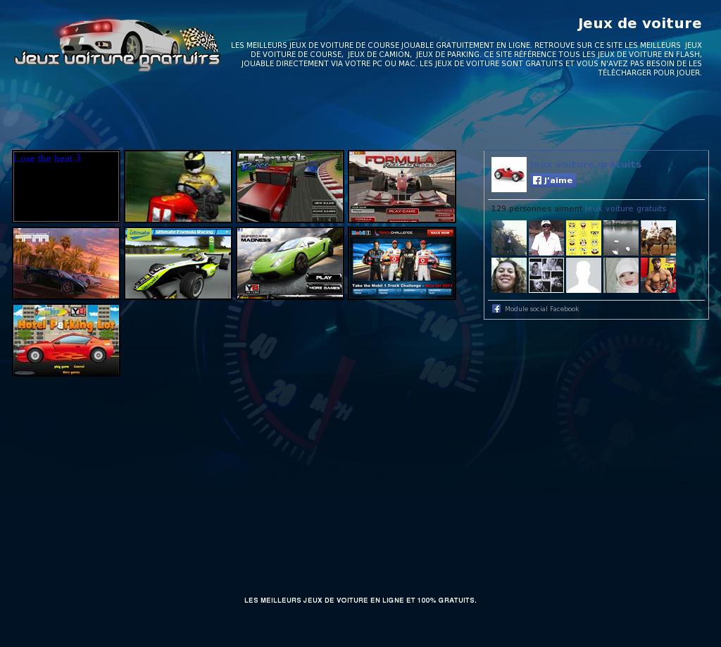 Jeux Voiture Gratuits Competitors, Revenue And Employees encequiconcerne Jeux De Course Online