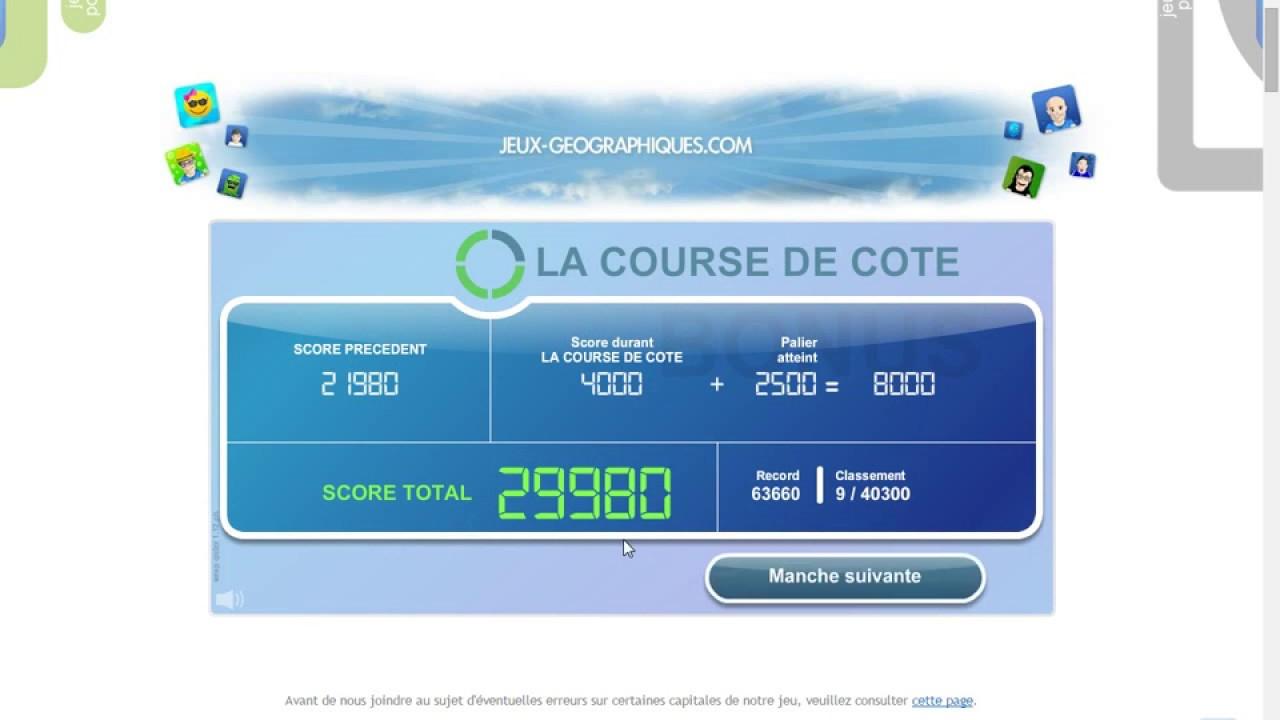 Jg#9-Capitales Du Monde (63 480) intérieur Jeu Des Capitales