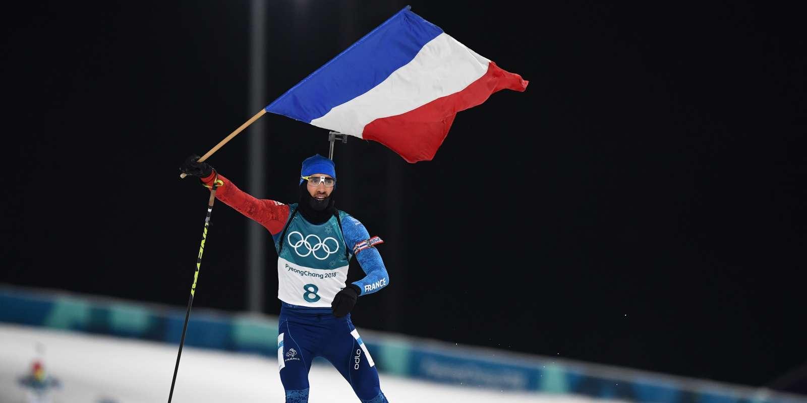 Jo D'hiver 2018 : Le Français Martin Fourcade Sacré Champion serapportantà Cauchemar Poursuite