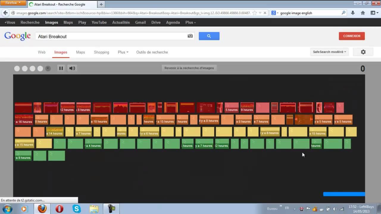Jouer A Casse Briques Atari Breakout) Sur Google Images encequiconcerne Jouer Au Casse Brique