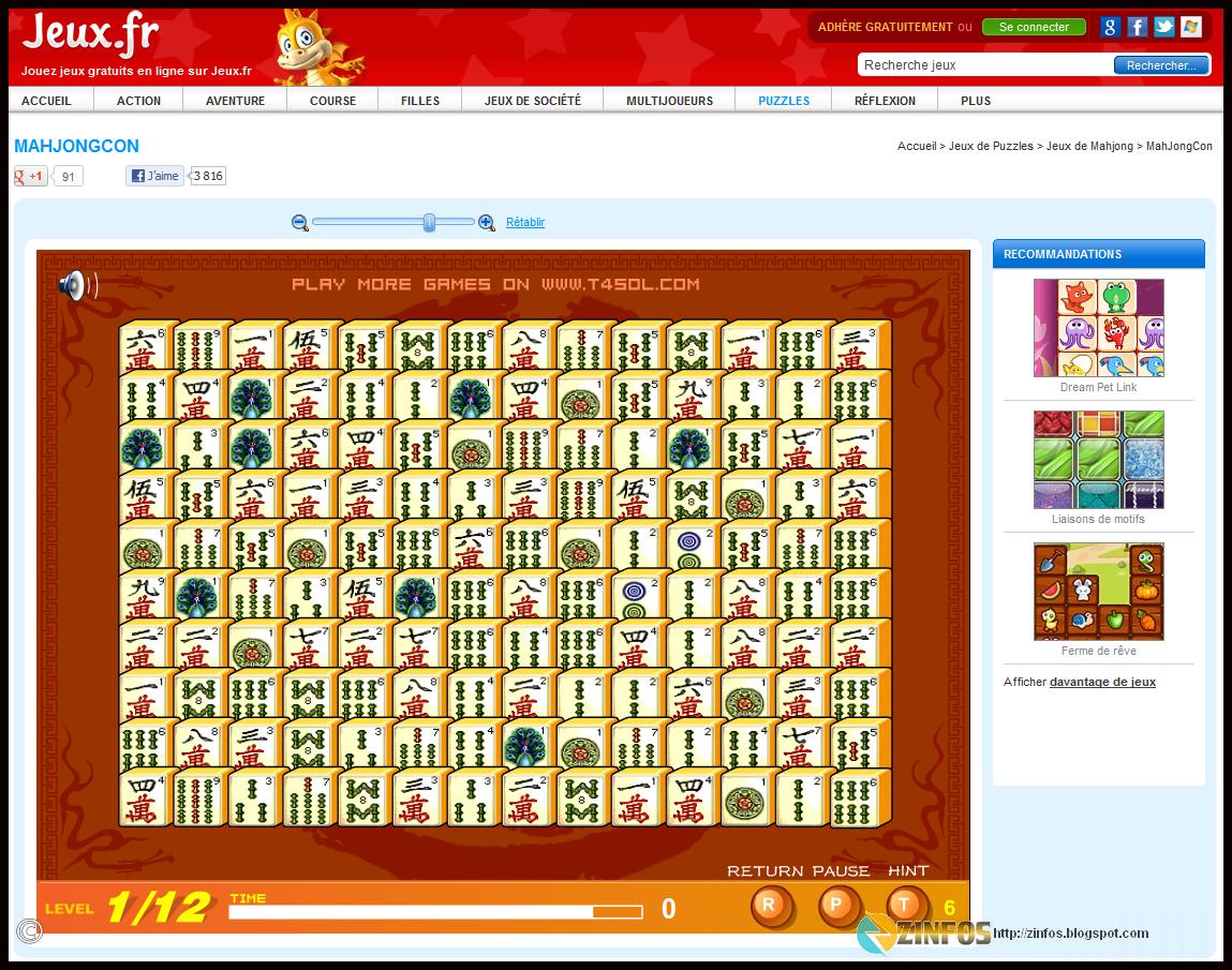 Jouer À Mahjong Gratuitement En Ligne intérieur Jeux De Mots En Ligne Gratuit