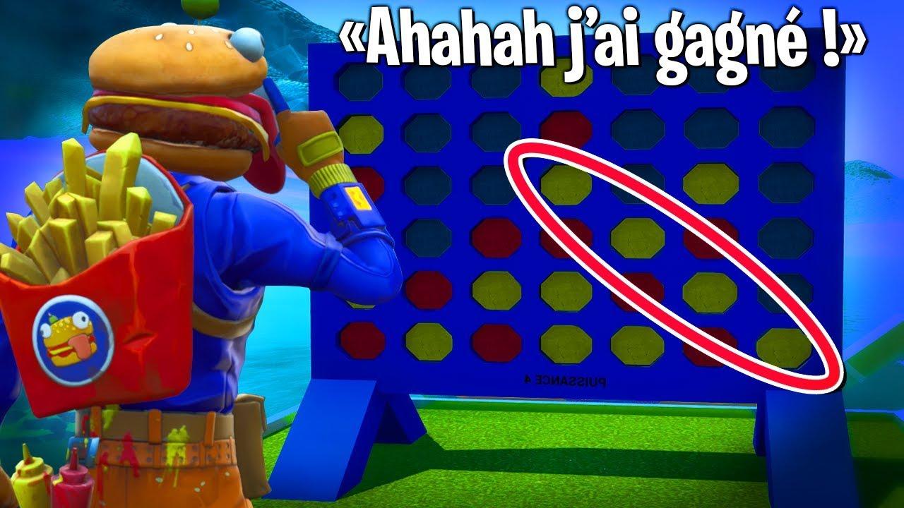 Jouer Au Puissance 4 Sur Fortnite Créatif ?! dedans Jouer A Puissance 4