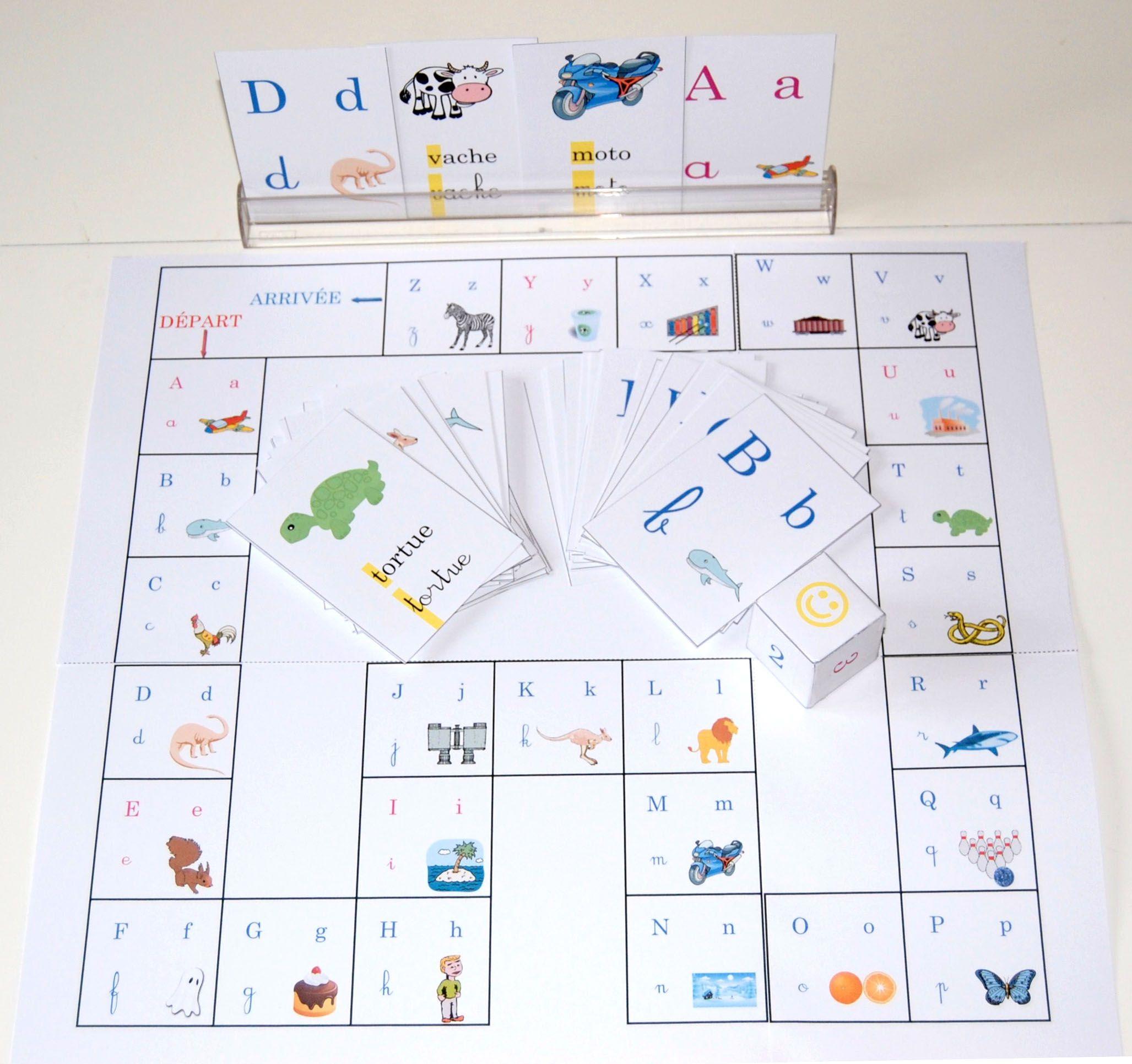 Jouer Pour Apprendre | Jeux De Lecture, Jeux A Imprimer avec Jeux Pour Apprendre À Écrire