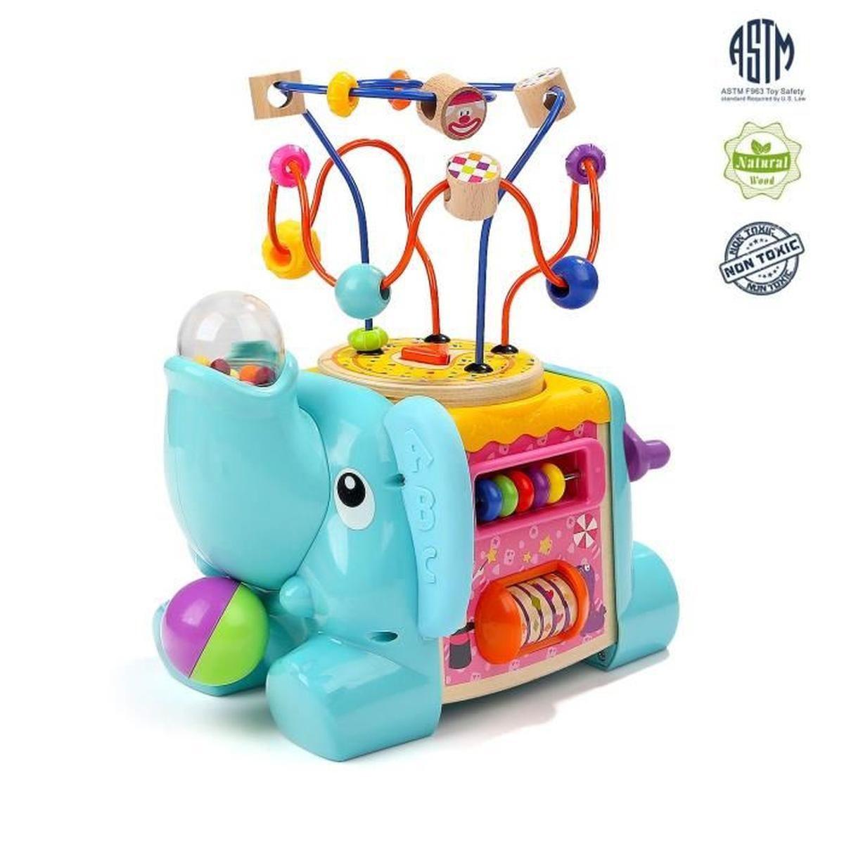 Jouet Educatif Avec Jeu Labyrinthe De Perle Pour Bébé, Jouet Cadeau Pour  Garçon Et Fille dedans Jeux Pour Garçon Et Fille
