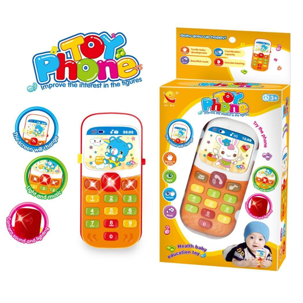 Jouets Et Loisirs Enfants Musique Électronique Téléphone intérieur Jouet Pour Enfant De 2 Ans