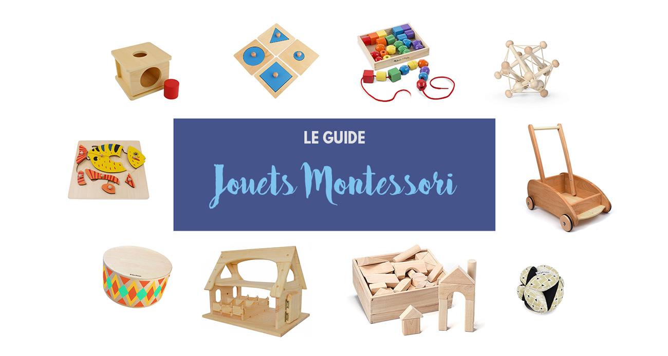 Jouets Montessori Pour Bébés Et Enfants : Le Guide Pratique pour Boite À Forme Montessori