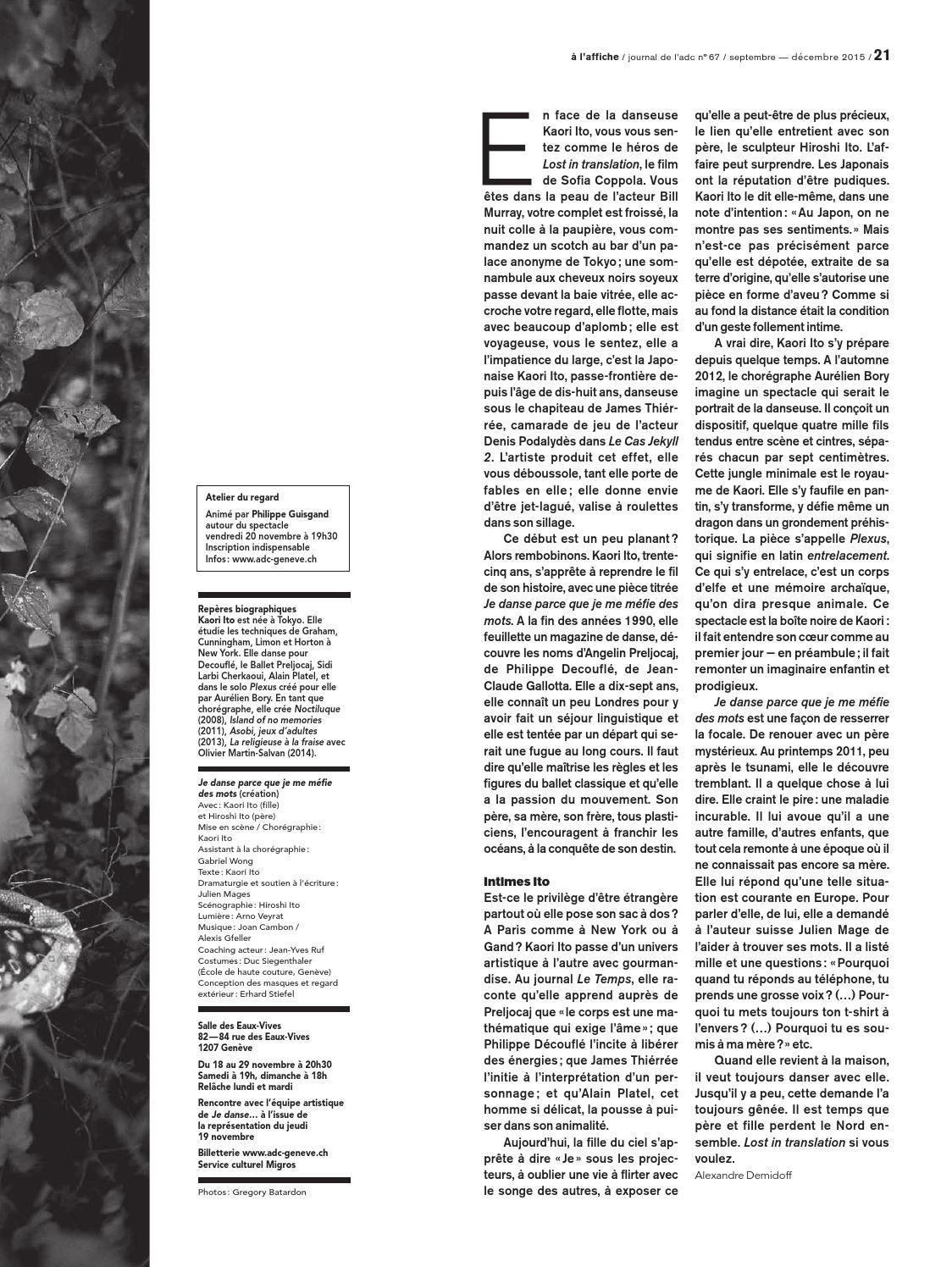 Journal De L'adc 67 By Adc Genève - Issuu dedans Inscription Jeux De Fille