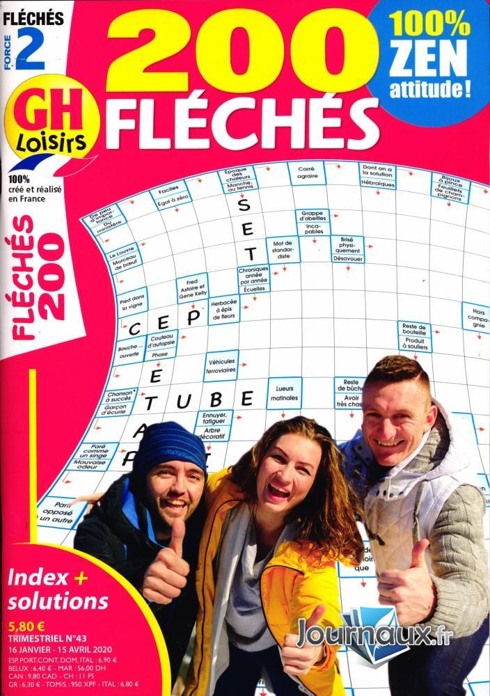 .journaux.fr - Gh 200 Fléchés Force 2 pour Mots Fleches Gr