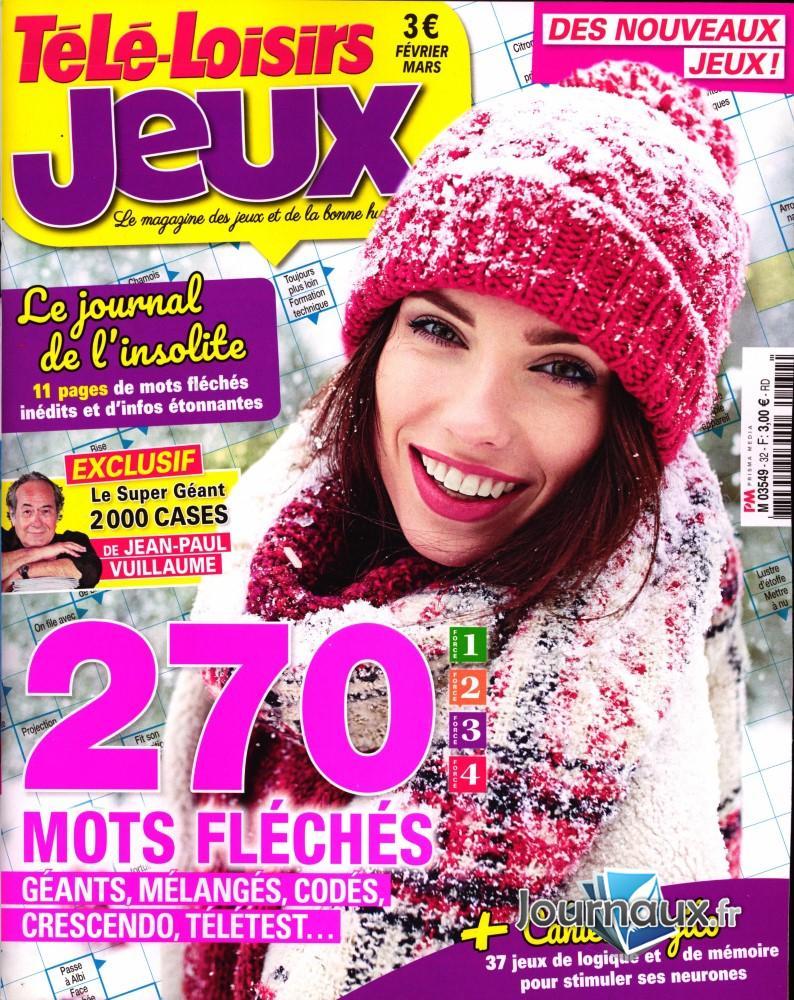 .journaux.fr - Télé-Loisirs Jeux tout Mot Fleches Geant