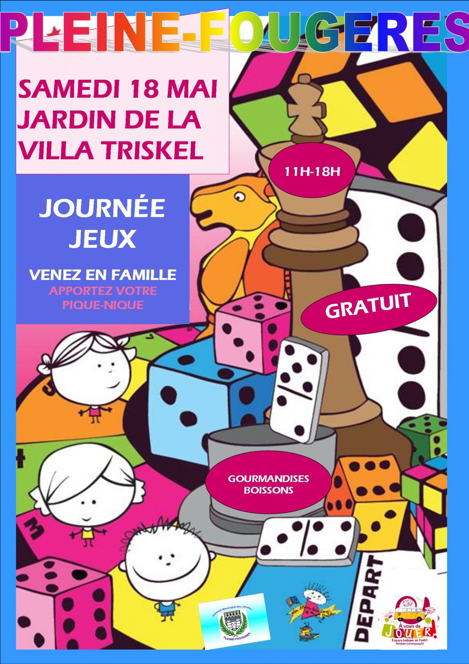 Journée Jeux - Ville De Pleine-Fougères dedans Jeux De Jardinage Gratuit