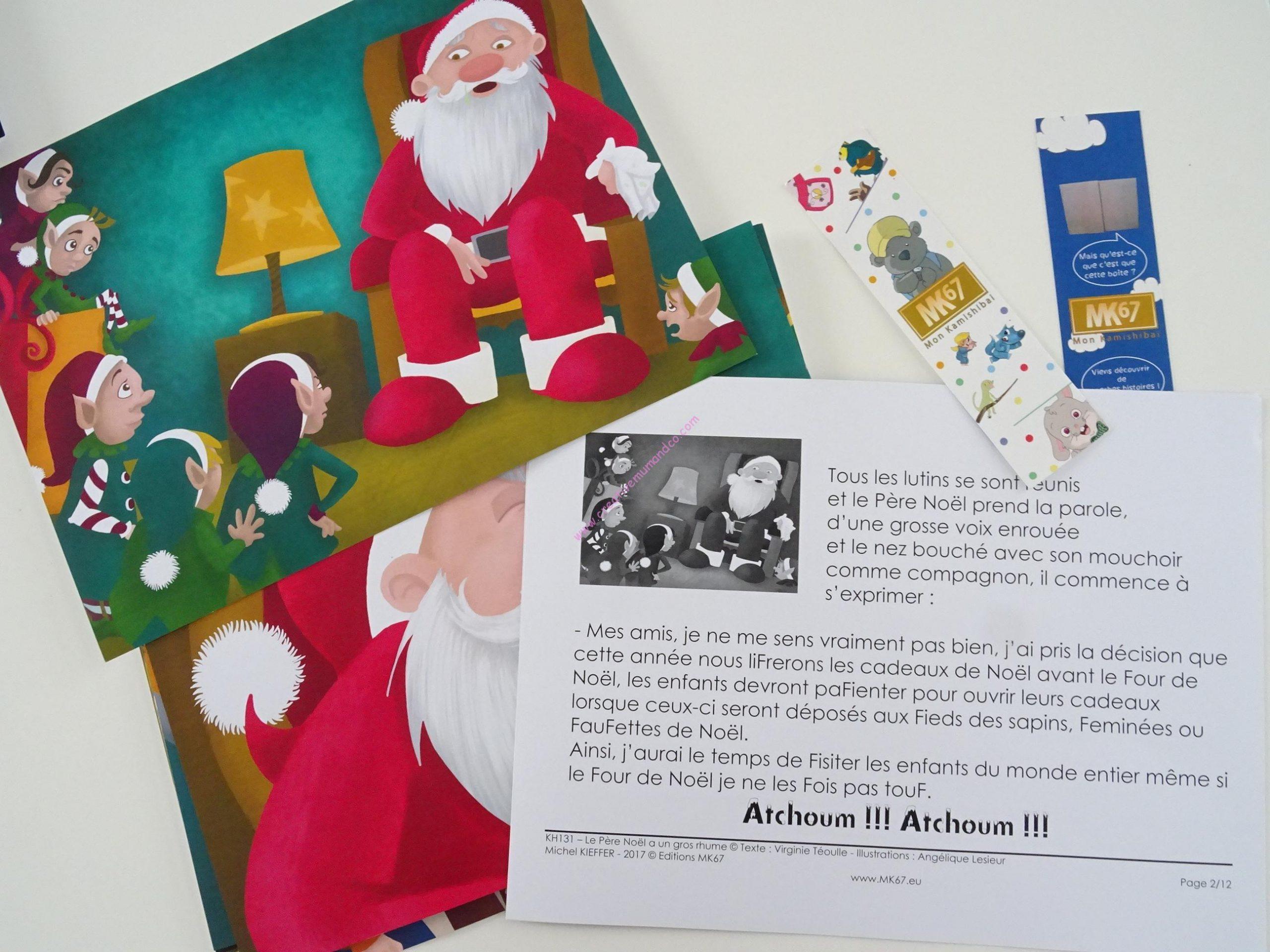 """Kamishibaï-Histoires Pour Les Enfants: """"le Père Noël A Un serapportantà Activité Manuelle Noel 3 Ans"""