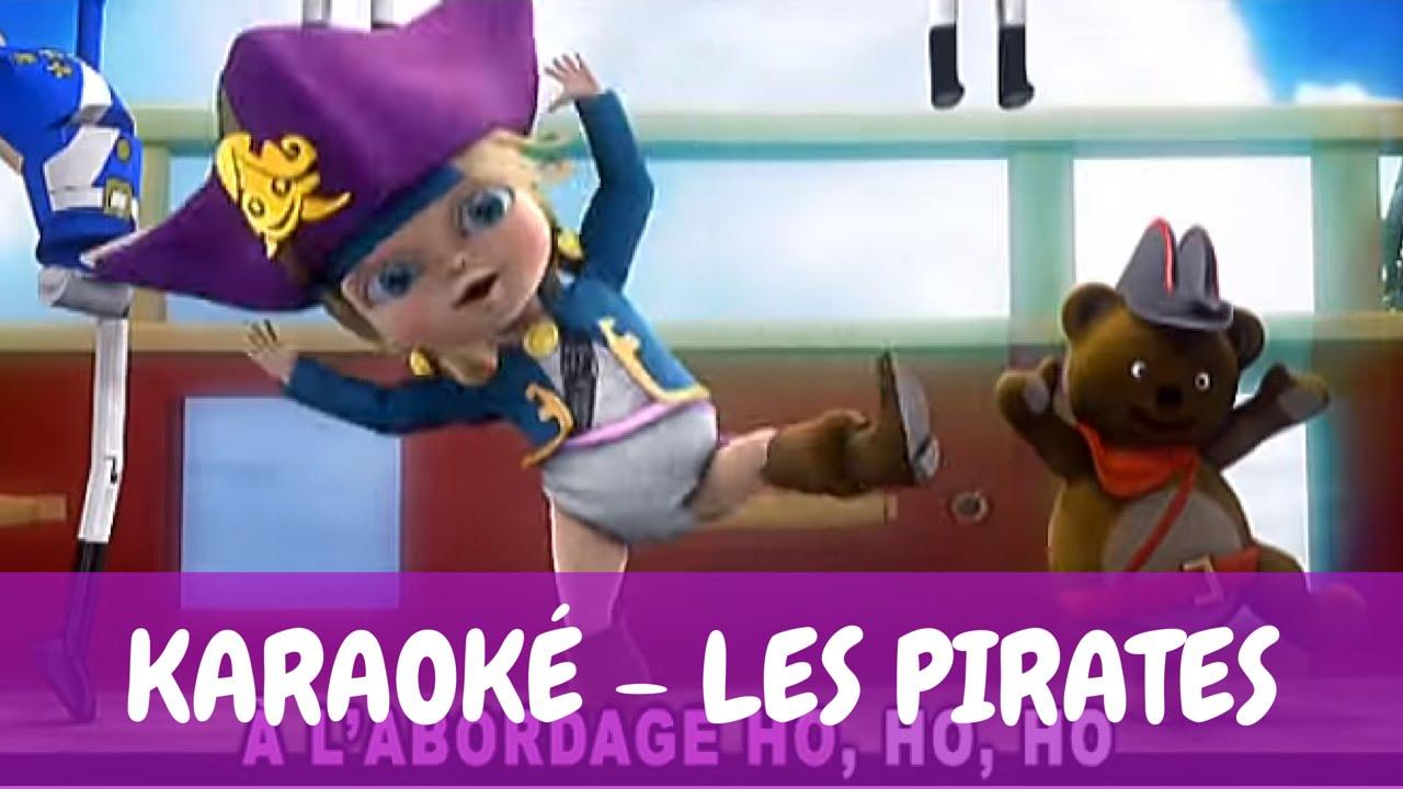[Karaoké] Bébé Lilly - Les Pirates dedans Jeux De Bébé Lili