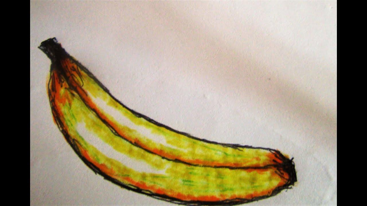 Keep The Banana I Time-Saving Diy D R A W I N G I Dessin De Banane destiné Dessiner Une Banane