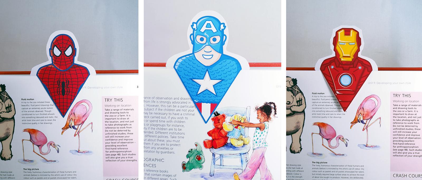 Kidissimo: Gratuit : Des Marque-Page Super-Héros À Imprimer. serapportantà Marque Page À Imprimer