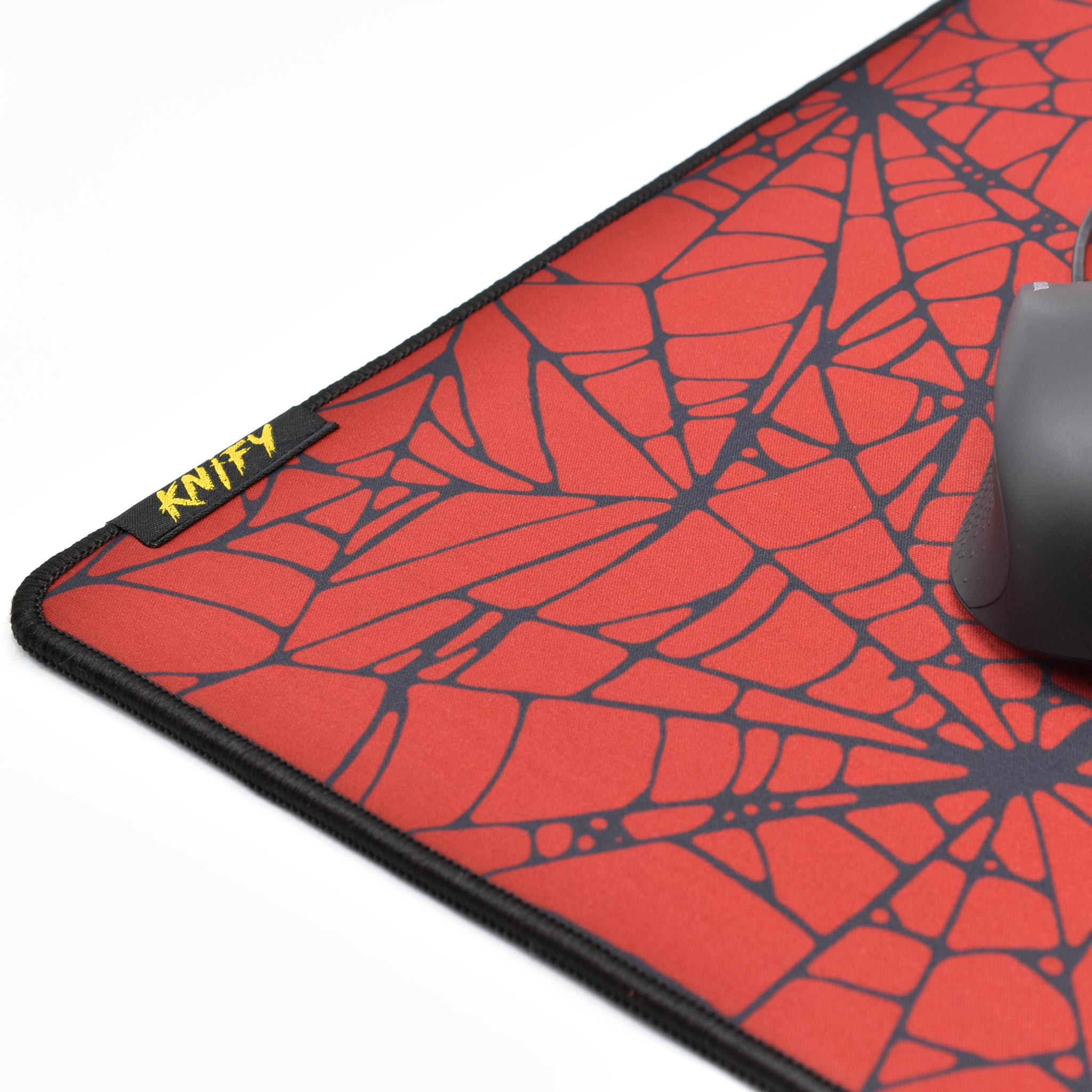 Knify | Slide New Edition - Crimson Web - Cs:go Mousepad - 5Mm Thickness dedans La Souris Du Web
