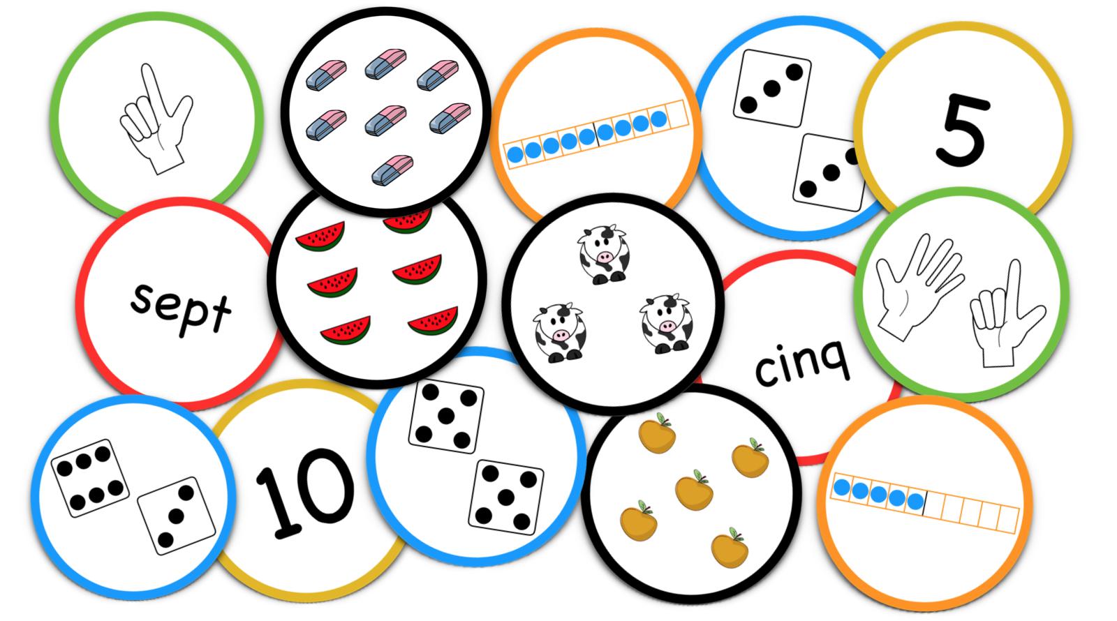 La Bataille Des Nombres (Le Blog Du Cancre) | Jeux avec Jeux Mathématiques Ce2 À Imprimer