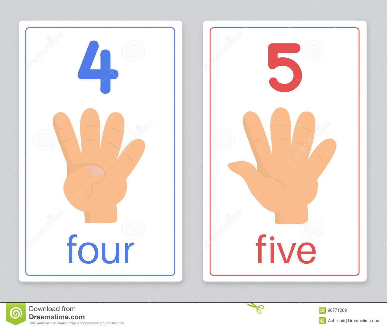 La Carte 4-5 De Mot Illustration De Vecteur. Illustration Du à Aide Pour 4 Images Un Mot
