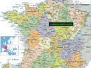 La Carte De France Avec Ses Régions » Vacances - Arts pour La Carte De France Et Ses Régions