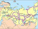La Carte Des Fleuves De Russie - Carte De La Russie Avec Les avec Carte Des Fleuves