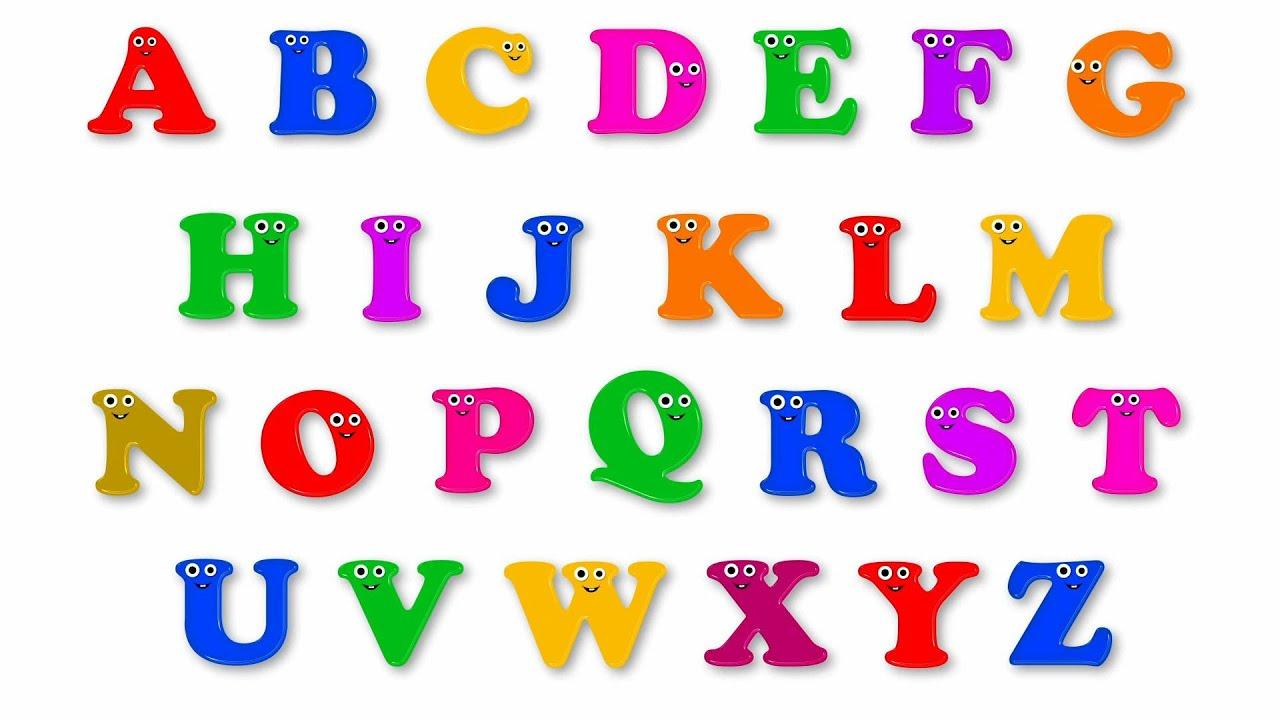 La Chanson De L'Alphabet concernant Alphabet À Colorier Maternelle