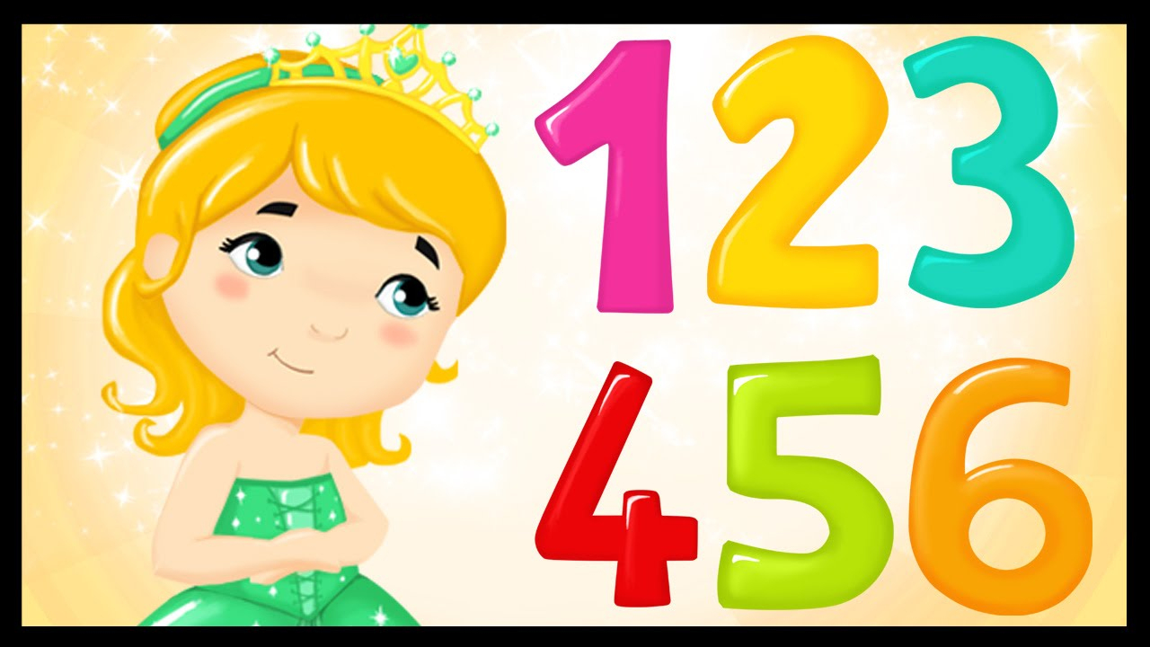 La Chanson Des Chiffres - Apprendre Les Chiffres Avec Les Princesses dedans Chiffre Pour Enfant
