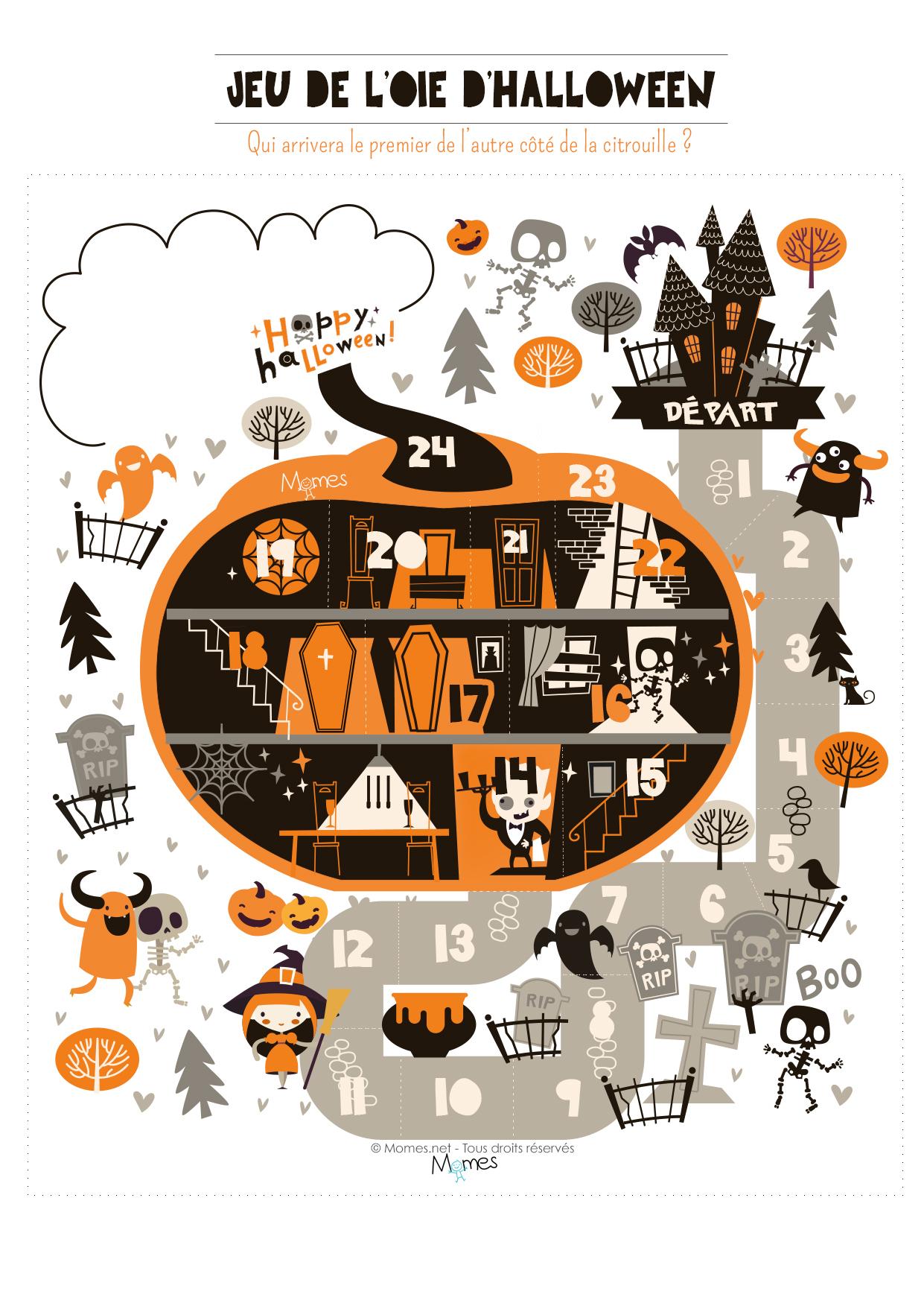 La Course Aux Bonbons D'halloween - Momes serapportantà Jeux D Halloween Gratuit