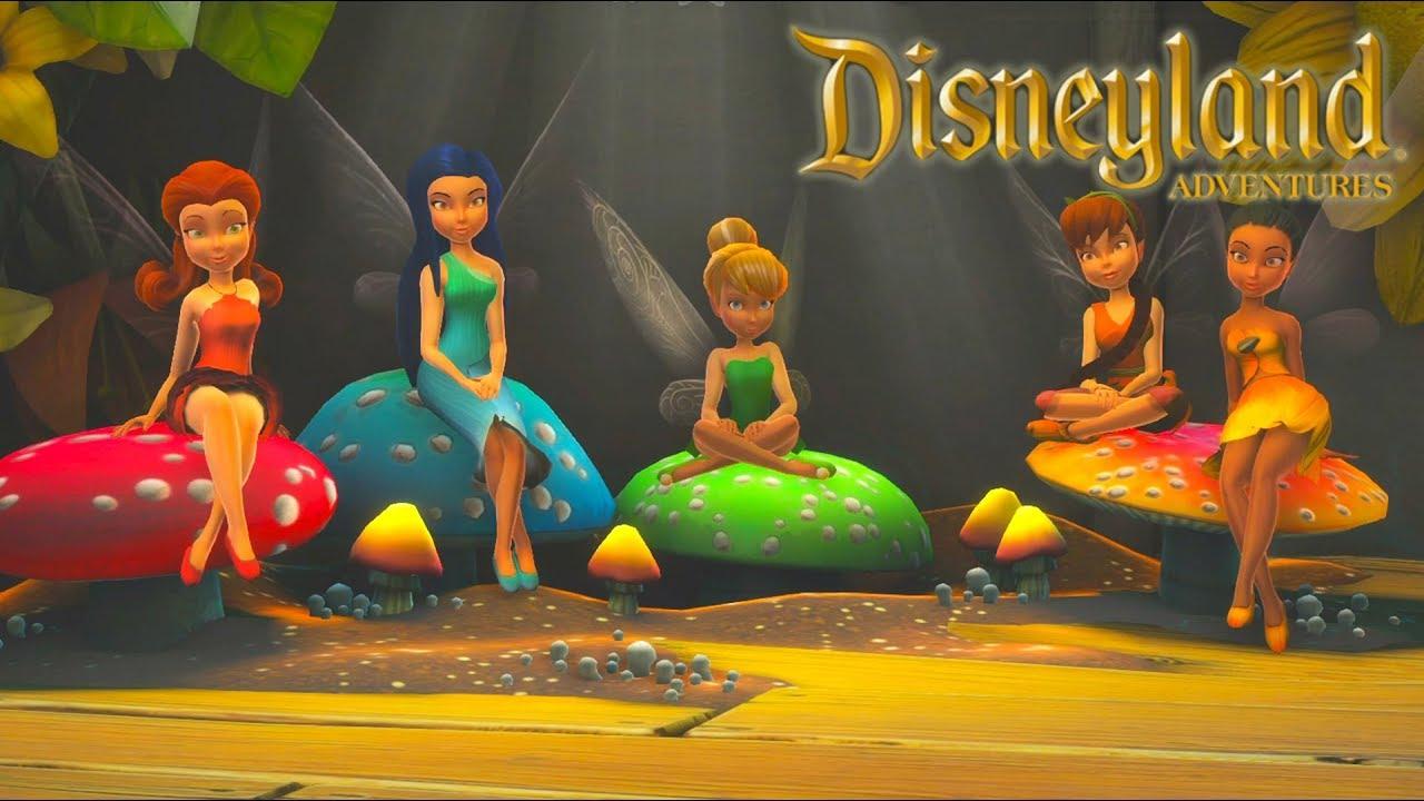 La Fée Clochette Jeux Vidéo De Dessin Animé Disney En Français - Disneyland  Adventures #6 serapportantà Jeux De Fee Gratuit