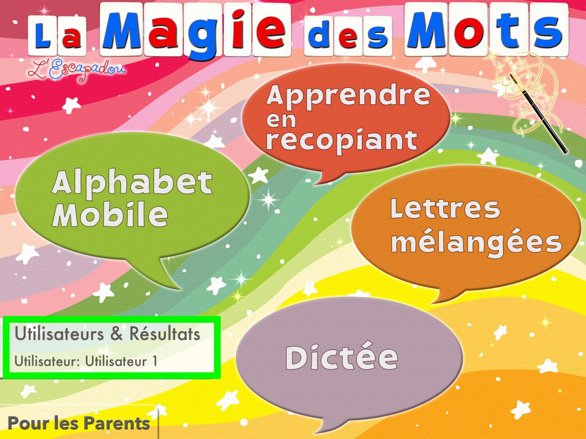 La Magie Des Mots - Tutoriel - Tablettes À L'école Primaire serapportantà Mot Avec Lettres Mélangées